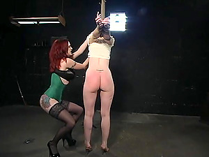 Lesbian BDSM and a slave role is amazing experience for Anita Blue