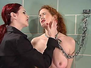 Torture and bondage are fantasies of lesbians Mz Berlin and Sabrina Fox
