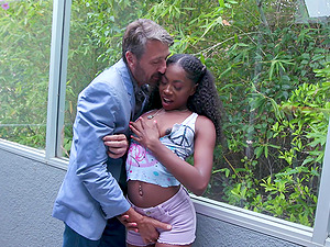 Hot Ebony Fucked By Friend's Uncle