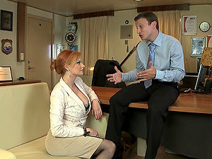Tarra White gets fucked by strong friend's penis while she moans