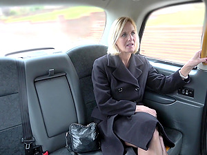 Horny Molly Milf adores when the driver fucks her badly in the taxi