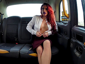 Diverse Stacey wants to reach heaven while horny driver fucks her badly