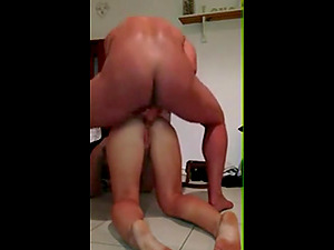 Gym guy and BDSM cheating wife creampied
