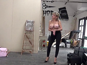 Lady Sonia playing with her hard nipples