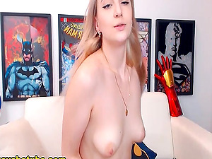 Stylish Blonde Strip And Engaged To A Bold Performance