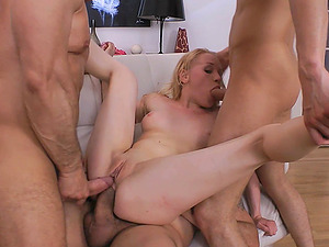 More than two dicks can satisfy all sexual needs of Lola Taylor