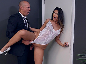 There is nothing better for Katana Kombat than a sex in the office