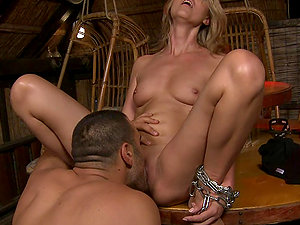 Sweet & Sexy Claudia Is Taken To The Garage For Predominance