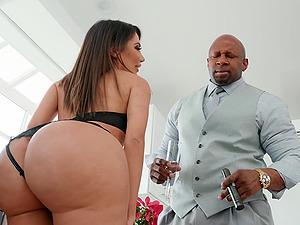 Lela Star craves for hard and black dick deep inside her wet holes