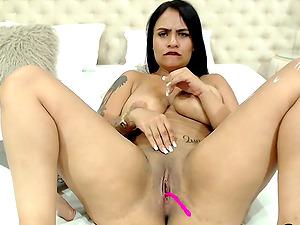 Amazing Rubbing That Dick In My Big Tits