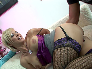 Sexy blonde mature likes rough group sex more than anything else