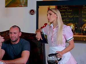 After pussy eating Abella Danger can't wait to feel friend's hard penis