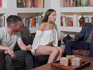 Cuckold husband watches as wife Abella Danger getes destroyed by a BBC