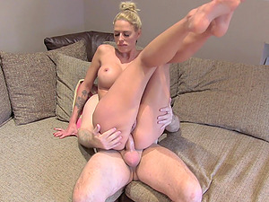 Chelsey Lanette bends over and gets her ass fucked during casting