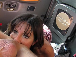 Cock hungty slut Tara Holiday gets fucked by the taxi driver