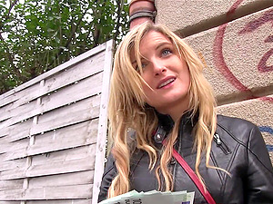 Jemma Valentine gives amazing head and gets fucked balls deep