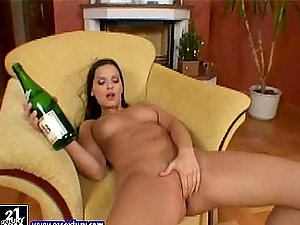 Fresh Year's Eve with a smoking hot black-haired stunner