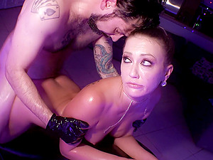 Nasty BDSM sex scene with a lot of toys and attractive Adira Allure