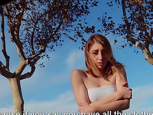 Stranger Lana Bunny loves having sex with tourists in her city