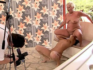 Mature Girl-on-girl Humps Taut Black-haired