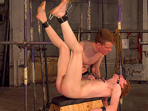 Nasty torture session by a young pervert for his best friend