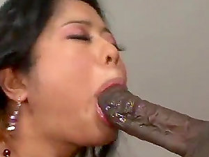 Beautiful Big-chested Asian Kya Tropic Gets Her Caboose Ruined by Black Dick