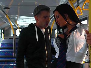 Pornstars Madison Ivy and Jasmine Jae share one stiff penis