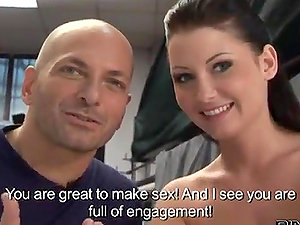 Harmless looking Euro honey gets her first-ever ass-fuck session