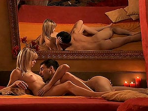 Romantic and Erotic Buttfuck Hump with Stunning Blonde Mia Magma