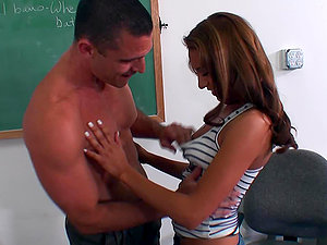 Smoking hot honey Sohley entices her tutor
