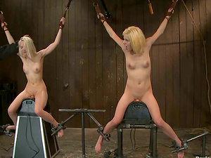 Ashley Jane and Princess Donna Dolore Predominated in Female dominance Restrain bondage Vid