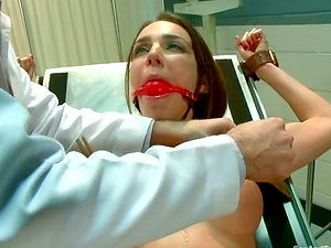 Scanty Tiffany Tyler gets tied up and clothespinned before wild fucky-fucky