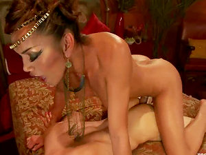 Blake gets amazingly fucked by transsexual princess Yasmin Lee