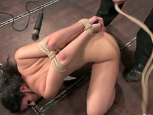 Water restrain bondage flick with Penny Barber getting tantalized