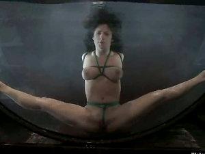 Lithe Mia Bangg get bonded and hosed in restrain bondage flick