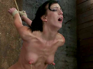 Toyed Elisa Graves Gets Tied Up by Isis Love in Restrain bondage flick