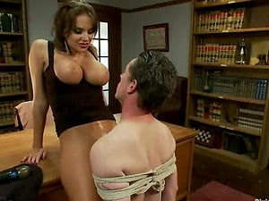 Hotwife Boy Gets Strapon Fucked by Nika Noire Before She Has Bang-out with Another