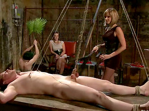Female domination Fuck Jamboree with Guys Getting Strapon Fucked and Abjected
