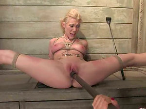 Lorelei Lee gets spanked and fucked by blonde mistress Samantha Sin
