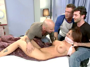 Lecturer Syren De Mer Gets Gang-fucked by Her Students