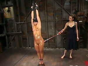 Katja Kassin plays Domination & submission games with Princess Donna Dolore