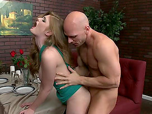 Hot Red-haired Beauty Faye Reagan Got Her Cunt Pranked
