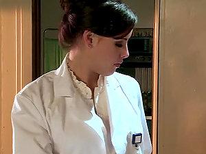 Sexy Physician Brooke Lee Adams Fucks Patient Like Mad!