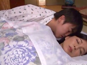 Mai Itou screams sweetly while getting her Asian snatch drilled