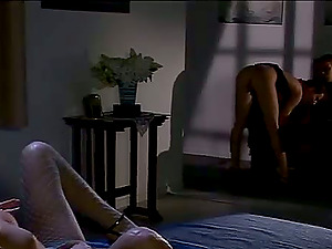 Judith Fox and Liz Honey get their fuck holes wrecked by a horny dude