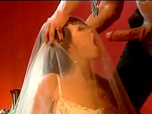 Claudia Jamsson the trampy doll in a wedding sundress get pounded
