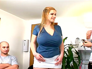 Giant tittied Terry Nova rails a dick and gets a mouthhole